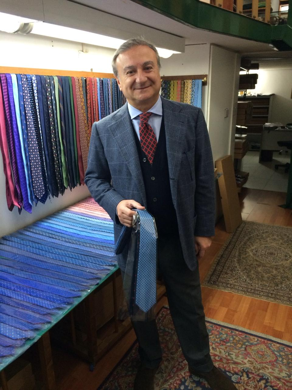 Handgjorda slipsar från E.G. Cappelli e723ada13eb9