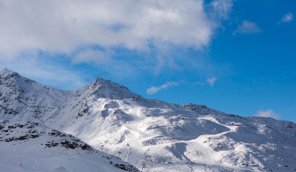 Fran Barmark Till Sno Franska Alperna Fore Efter 21 November Aka Skidor