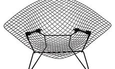 Diamond Chair av Harry Bertoia