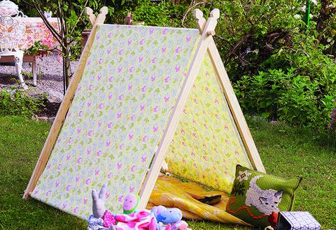 Så gör du ett lektält för de små – Hus & Hem