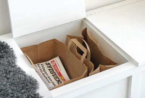 Attraktiva Bygg den smarta bänken med dold återvinning – Hus & Hem QL-69