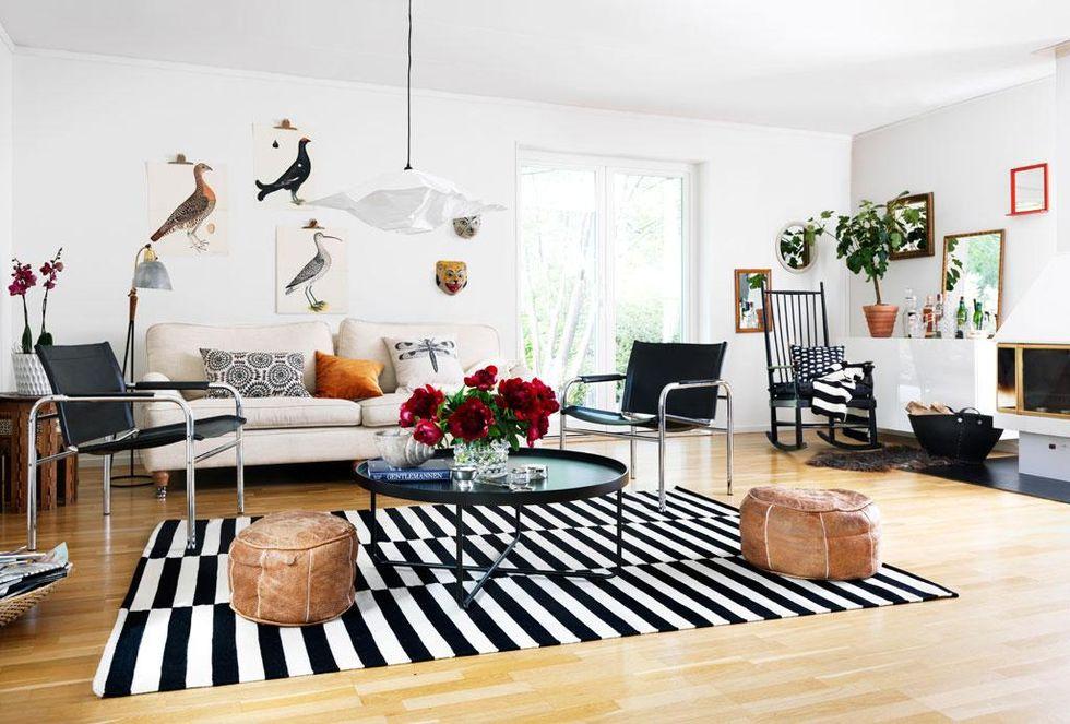 F̦rnya vardagsrummet Рgrafiskt och stilrent РHus & Hem