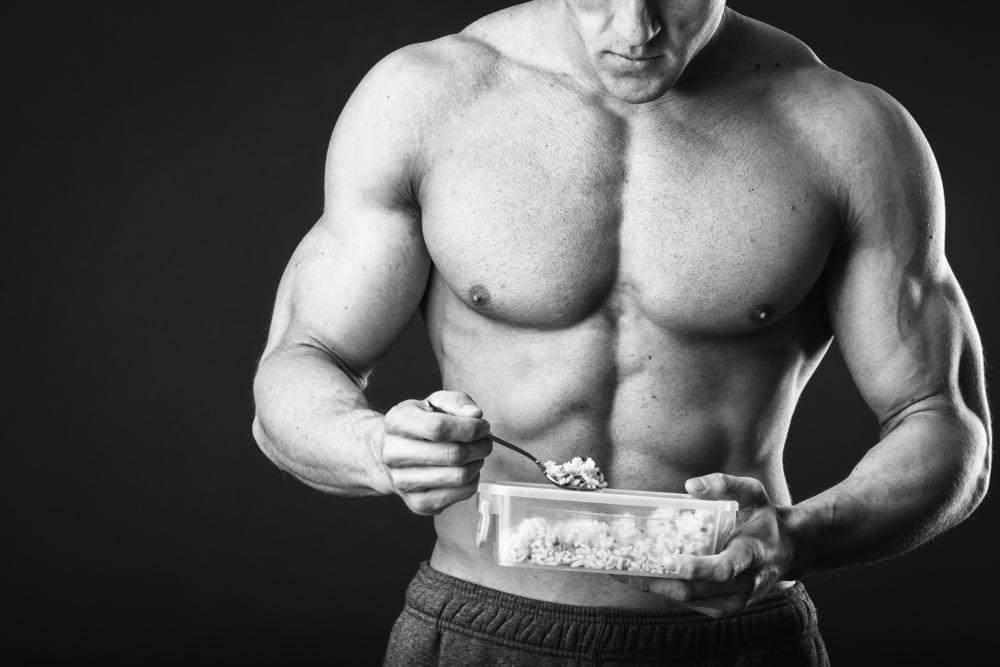 diet för muskelbygge