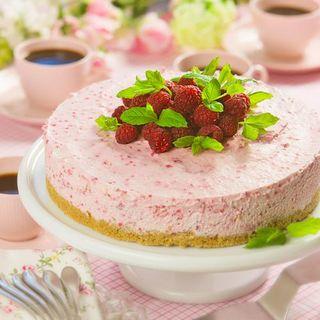 fryst cheesecake hallon