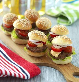 små hamburgerbröd recept