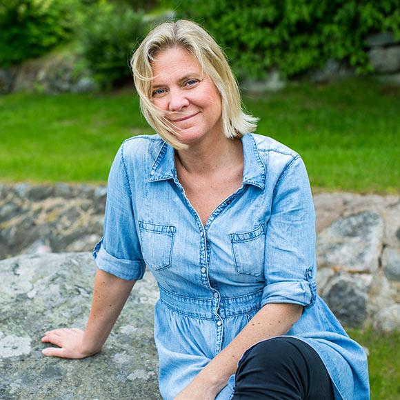 Magdalena Andersson Om Sorgen Efter Pappa Goran