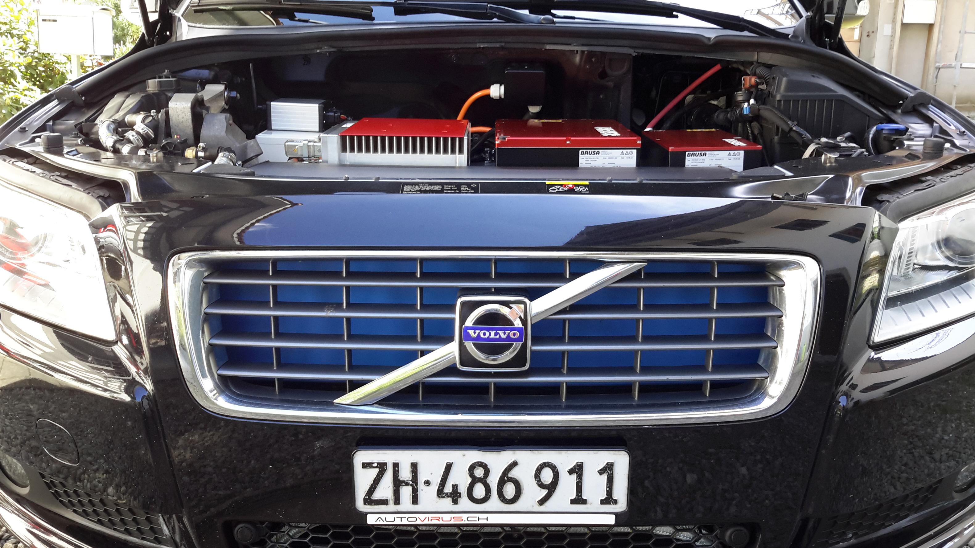 Volvo satsar pa ren eldrift