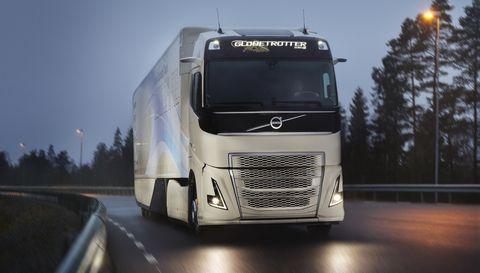 Volvo Testar Hybridteknik I Lastbil Klarar En Mil Pa Eldrift Recharge