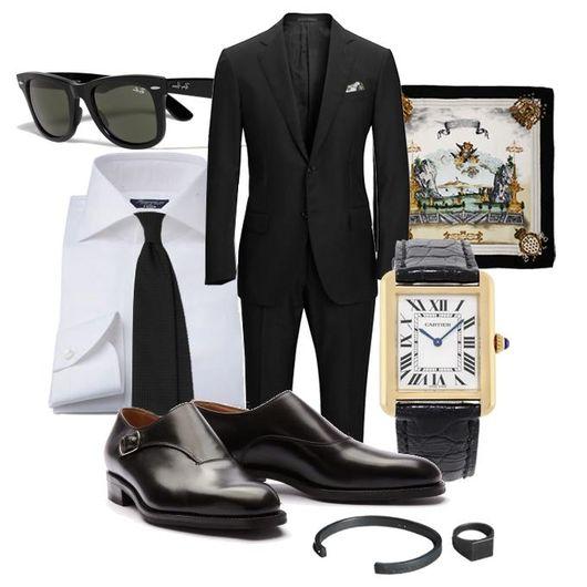 Fredagsinspiration - Den Svarta kostymen dc0a02f2eb9bc
